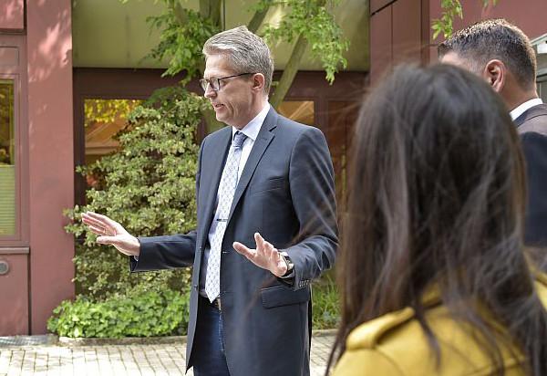 Bernd Schäfer im Gespräch